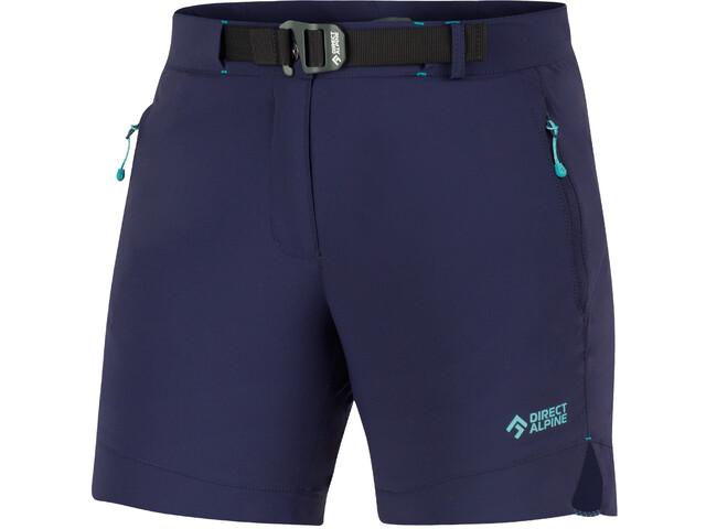 Directalpine Cruise Shorts Women indigo/menthol